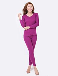 Women Cotton Thermal Underwear , Thick