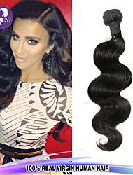precio barato 1 PC / porción malasia virginal del pelo onda del cuerpo 100% del pelo humano del pelo humano sin procesar teje