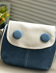 Women Denim Sling Bag Shoulder Bag - Blue