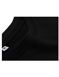 Running Tops / T-shirt Men's Breathable / Quick Dry Fitness Sports Tight Performance Black S / M / L / XL / XXL