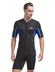 2MM Neoprene SBART Man Black Cold-proof Warm Diving Suit