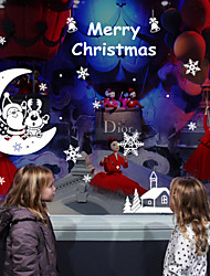 Christmas Wall Stickers Plane Wall Stickers