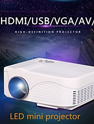 X9 LCD WVGA (800x480) 1000lumens LED 800:1 16:9  4:3 Mini Projector