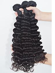 Big Discount Malaysian Virgin Hair Deep Wave 3 Bundles/lot Tangle Free Unprocessed Deep Curly Hair Weaves