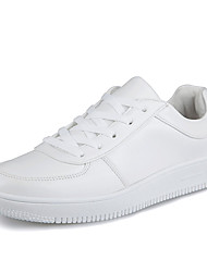 Men's Shoes Office & Career / Athletic / Casual Synthetic Fashion Sneakers / Athletic Shoes White