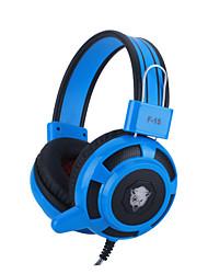 над-уха наушник гарнитуры игра оголовье ж / микрофон стерео бас привели свет для ПК - четыре цвета факультативного