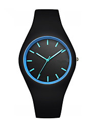 Students Waterproof Fashion Watches Silicone Noctilucent Jelly Table Youth Men's Watch Quartz Watch Cool Watch Unique Watch