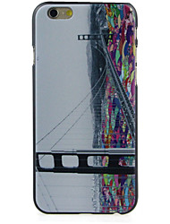 Bridge High Quality and Good Price Pattern  Hard Case for iPhone 6/6S
