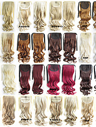 1Pc/Lot 22Inch 55Cm 100g/pc Ribbon Ponytail Curly Hair Kanekalon Synthetic Hair/ Heat Resistant