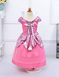 Vestido Chica de - Todas las Temporadas - Poliéster - Rosa