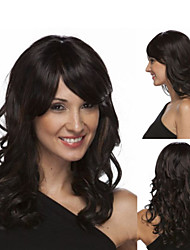 Hot Selling Medium  Blonde Syntheic Wave  Wig Extensions Superior in Quality
