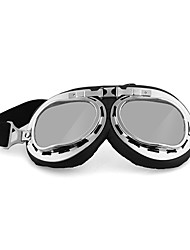 Motorcycle Goggle  (transparent/colorful/plating silver/dark brown/Yellow)