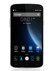 "DOOGEE X6 5.5 "" Android 5.1 Smartphone 3G (Double SIM Quad Core 5 MP 1GB + 8 GB Noir / Blanc)"
