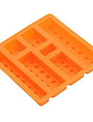 Square Sharped Silicone Ice Mold Building Blocks Ice Tray Chocolate Mould (Random Color)