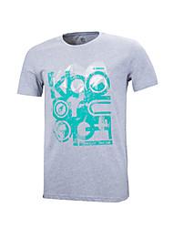 bird®men k-de funcionamento topos / t-shirt de acampamento&esportes caminhadas / fitness / lazer / respirável permeabilidade / umidade