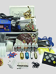 3 Guns BaseKey Tattoo Kit K307 Machine With Power Supply Grips Cups Needles(Ink not included)