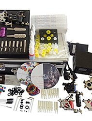 6 Guns BaseKey Tattoo Kit K601 Machine With Power Supply Grips Cups Needles(Ink not included)