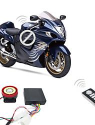 9-16v Motorcycle Alarm System 125dB 2 Remote Controls Anti-Theft Burglar Alarm