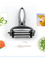 3in1 Multi-fonction Kitchen Tool Set Peeler Grater Slicer Peel Orange Random Color
