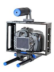 yelangu® portatile gabbia gabbia / BMCC fotocamera reflex digitale universale con maniglia superiore per 5D3 7D 5D2