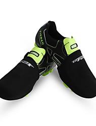 Half BATFOX Cycling Waterproof Shoe Covers Road Bicycling Equipment Lock Shoe Shoes Black