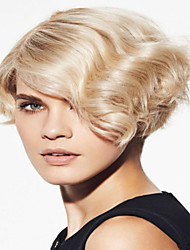 Beautiful  Style  Blonde Short Straight  Hair Syntheic  Wig