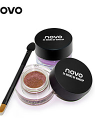 1Pcs Air Cushion Waterproof Eye Shadow Eyeshadow Stereo Shining Monochromatic Eyeshadow Makeup  (12 Colors Optional)