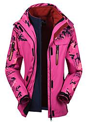 Randonnées Hauts/Tops Femme Etanche Cap détachable Hiver Rouge Bleu Ciel Olive M L XL XXL XXXL 35 Sports de neige Ski alpin Snowboard-