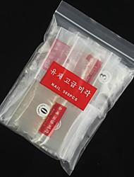 venta caliente 500 PC de Ransparent semi palo de manicura semi transparente