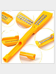 5 in 1 Multi-functional Kitchen Tools Peeler Graters Seeder Wave-cut Fish Sealing Cut Off The Scales