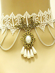 Women's Choker Necklaces Gothic Jewelry Lace Vintage Victorian Jewelry For Wedding Party Daily Casual