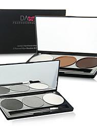 1Pcs Danielle Genuine DANNI 3 Colors Eye Shadow For Bronzing Powder / Eyebrow Using Biying High Light Palette