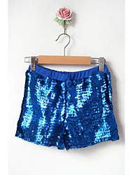 Jazz Bottoms Women's Performance Cotton / Sequined Sequins 1 Piece Black / Blue / Red / Silver