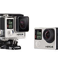 Gopro HERO 4 BLACK Sports Camera 12MP 1920 x 1080 120fps No CMOS 64 GB English Single Shot / Time-lapse 40 M BluetoothSurfing / Boating /