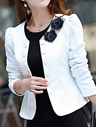 Women's Elegant Double Breasted Long Sleeve Jacket
