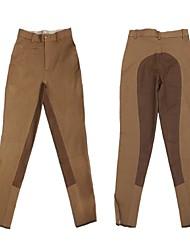 бриджи галифе Конный профессиональных штаны высокие упругие вязание полная кожа верховой езды для мужчин и женщин
