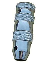 2pcs tatuaje basekey agarre de aluminio medio vuelta tallo color al azar