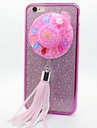 chapeau TPU + pc placage retour cas pour iPhone6 ainsi, 6s et plus (couleurs assorties)