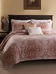 Blumen Polyester 3 Stück Bettbezug-Sets