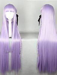 Lolita Wigs Sweet Lolita Lolita Extra Long Light Purple Lolita Wig 100 CM Cosplay Wigs Solid Wig For Women
