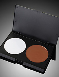 Double Color Grooming Trimming Cake Highlighter Shadow Powder Pressed Powder Makeup Face Contour Beauty Makeup Cosmetic