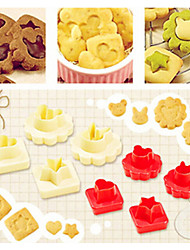 8pcs DIY Cookies mold baking tools 16 shapes