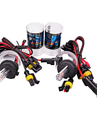2PCS HID Xenon H7-6000K-55W for Car