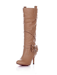 Women's Shoes  Stiletto Heel Round Toe/Closed Toe Boots