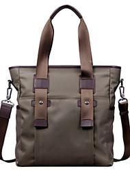 Formal / Casual / Oficina y Trabajo - Tote / Bolsa de Portátil / Cross Body Bag - Tejido Oxford - Verde - Hombre