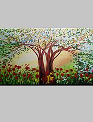 Ручная роспись Абстракция ПейзажModern 1 панель Холст Hang-роспись маслом For Украшение дома