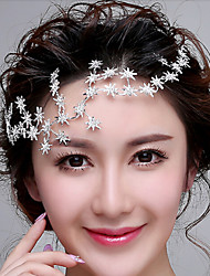 Tiny Star Headpiece - Wedding / Special Occasion Headbands / Head Chain with Rhinestones