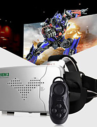 RITECH®  Riem III Virtual Reality 3D Glasses  + Smart Bluetooth Wireless Mouse / Remote Control Gamepad