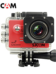 SJCAM SJ5000 WiFi Action Kamera / Sport-Kamera 14MP 4000 x 3000 Wasserdicht / Wifi 4X ± 2 EV 2 CMOS 32 GB H.264Deutsch / Koreanisch /