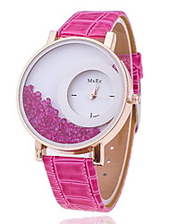 Women's Circular Rolling Beads Quartz Wrist Watch(Assorted Colors)